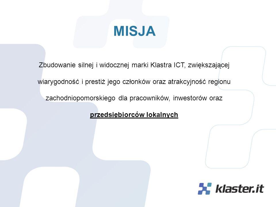 CELE Stworzenie silnego lobby IT Pomorza Zachodniego wzmacniającego wizerunek województwa zachodniopomorskiego i Szczecina, jako atrakcyjnego miejsca dla inwestorów.