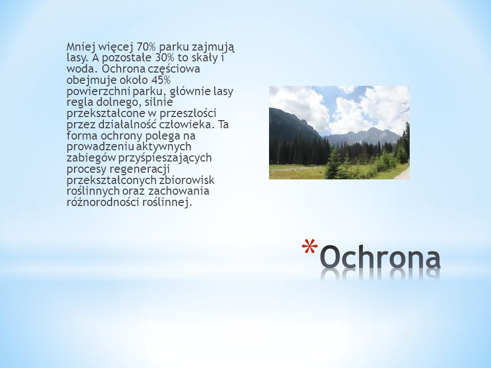 Flora tatrzańska jest bogata i bardzo zróżnicowana.