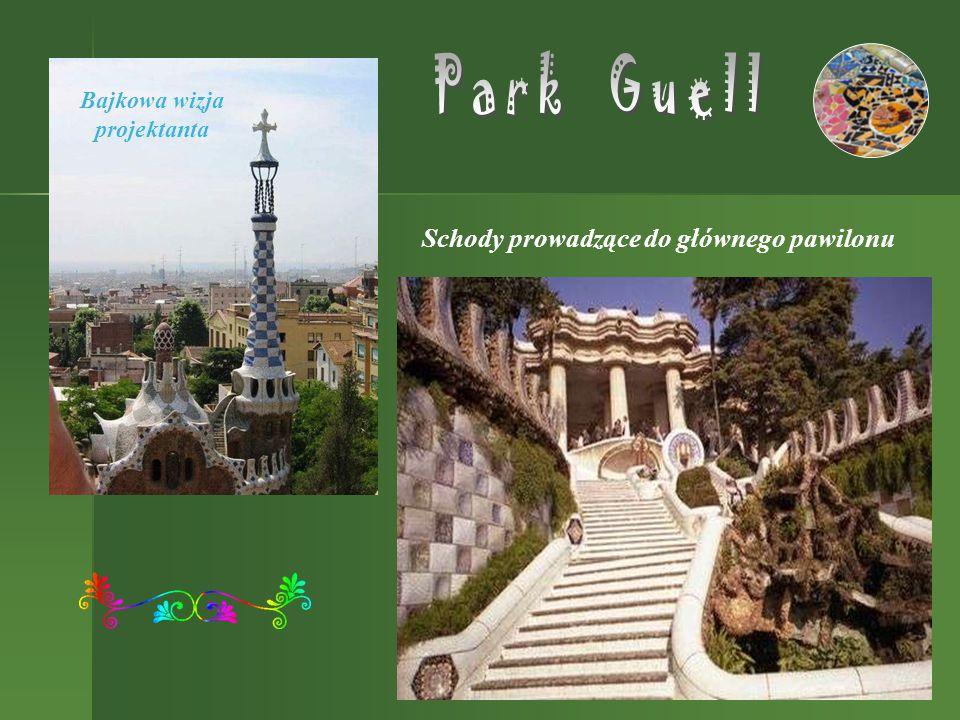 """Casa Batllo – zwany """"Domem z kości , w którym Gaudi przekształcił całkowicie elewacje.elewacje Wszędzie widoczne jest unikanie linii prostych."""