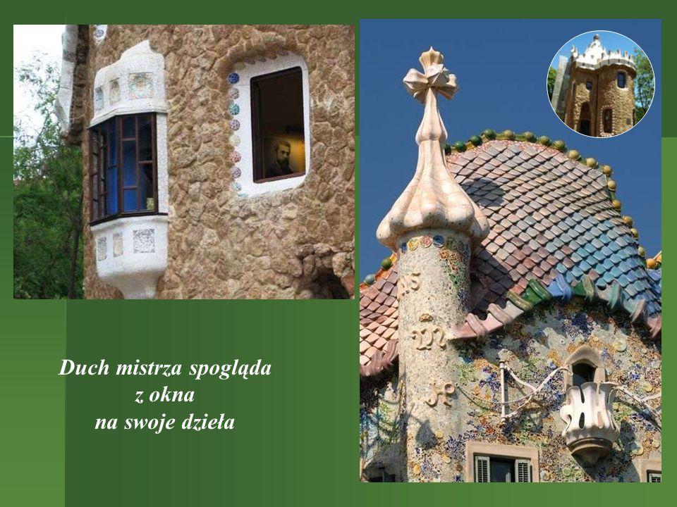 Park Guell To kolejny projekt, którego Gaudi nie zdążył ukończyć.