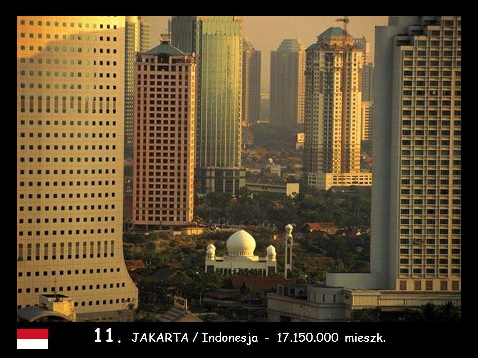12. OSAKA /Japonia - 16.800.000 mieszk.