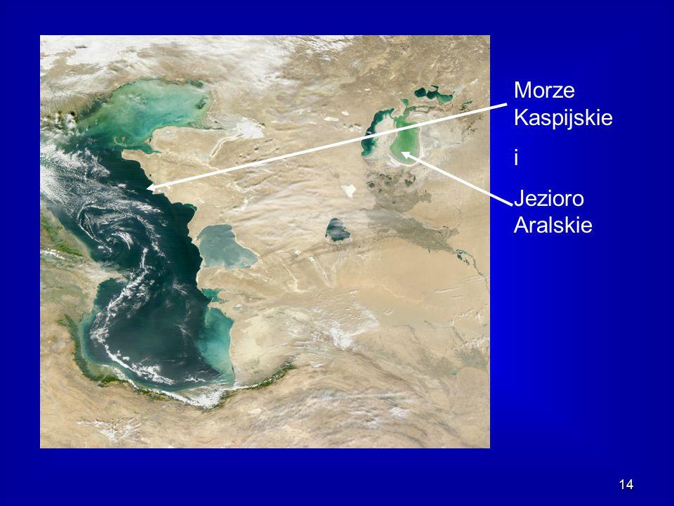 14 Morze Kaspijskie i Jezioro Aralskie