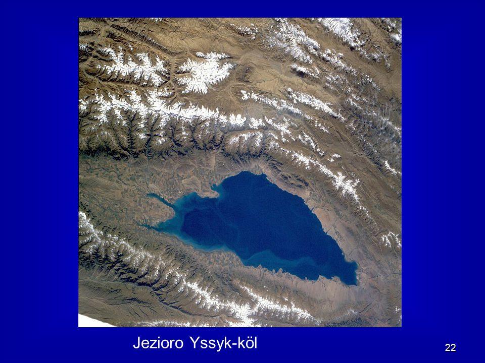 22 Jezioro Yssyk-köl