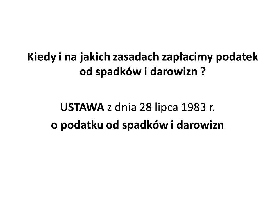USTAWA z dnia 9 września 2000 r.