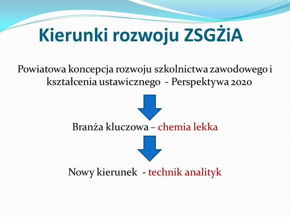 NOWY KIERUNEK TECHNIK ANALITYK KWALIFIKACJE ZDOBYWANE W ZAWODZIE: A.59.