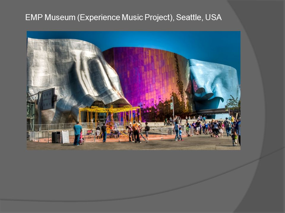 EMP Museum (Experience Music Project), Seattle, USA