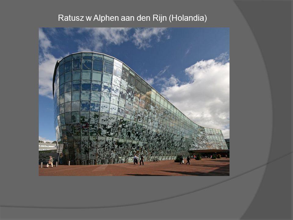 Ratusz w Alphen aan den Rijn (Holandia)