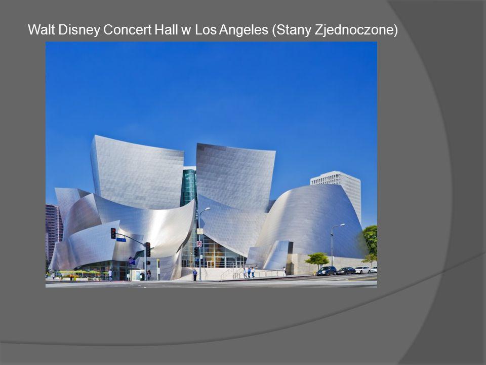 Walt Disney Concert Hall w Los Angeles (Stany Zjednoczone)