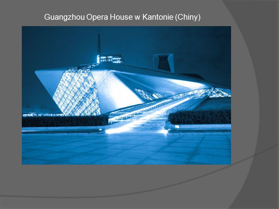 Opera w Kantonie to największe centrum sztuki w południowej części Chin oraz trzecie co do wielkości w całym kraju.