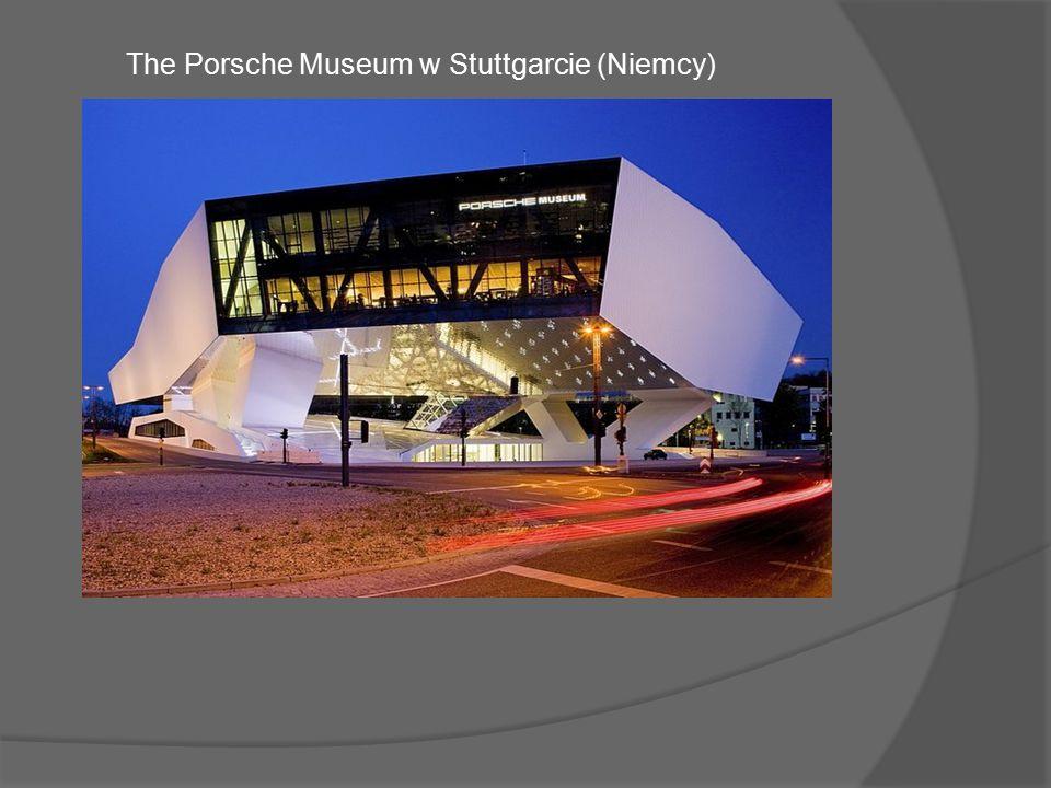 Budynek nowego muzeum luksusowej marki samochodowej Porsche projektu Delugaa Meissla kosztował aż 100 mln$, jednak to środek stanowi o jego wartości.
