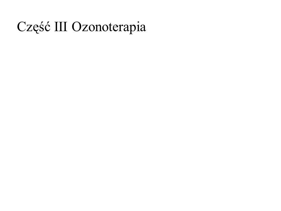 Część III Ozonoterapia