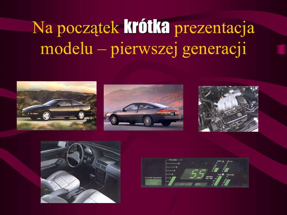 krótka Na początek krótka prezentacja modelu – pierwszej generacji