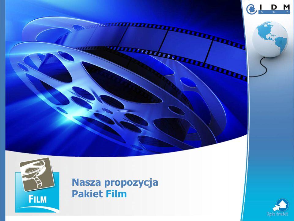 Nasza propozycja Pakiet Film