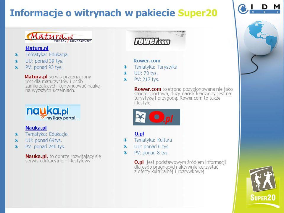 Matura.pl Tematyka: Edukacja UU: ponad 39 tys. PV: ponad 93 tys.