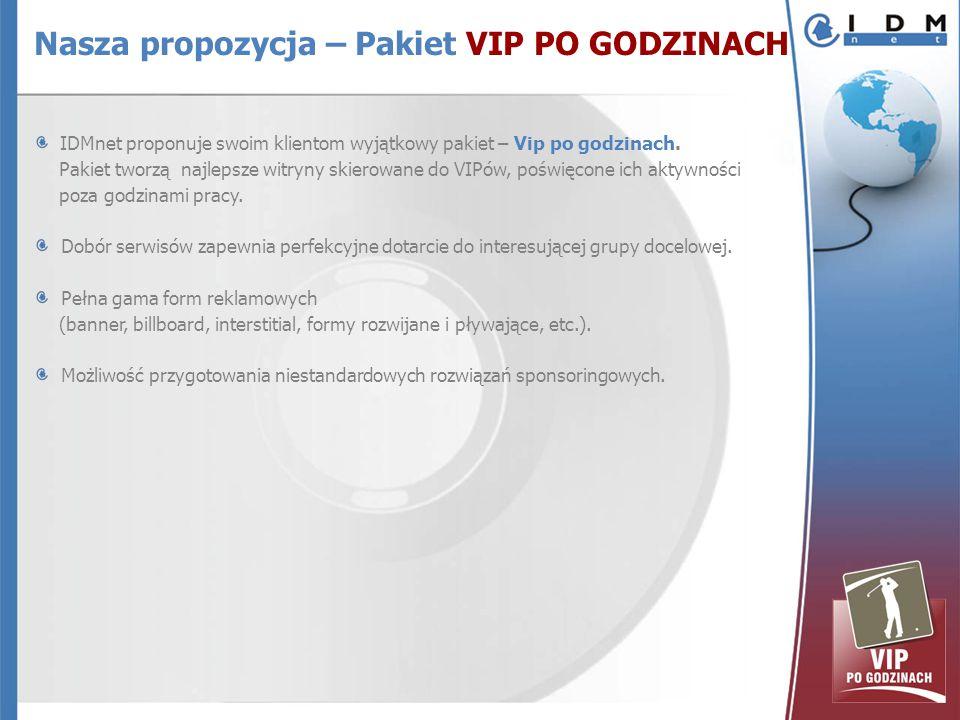 IDMnet proponuje swoim klientom wyjątkowy pakiet – Vip po godzinach.
