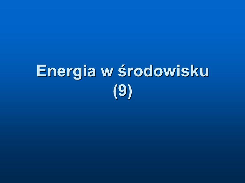 Energia w środowisku (9)