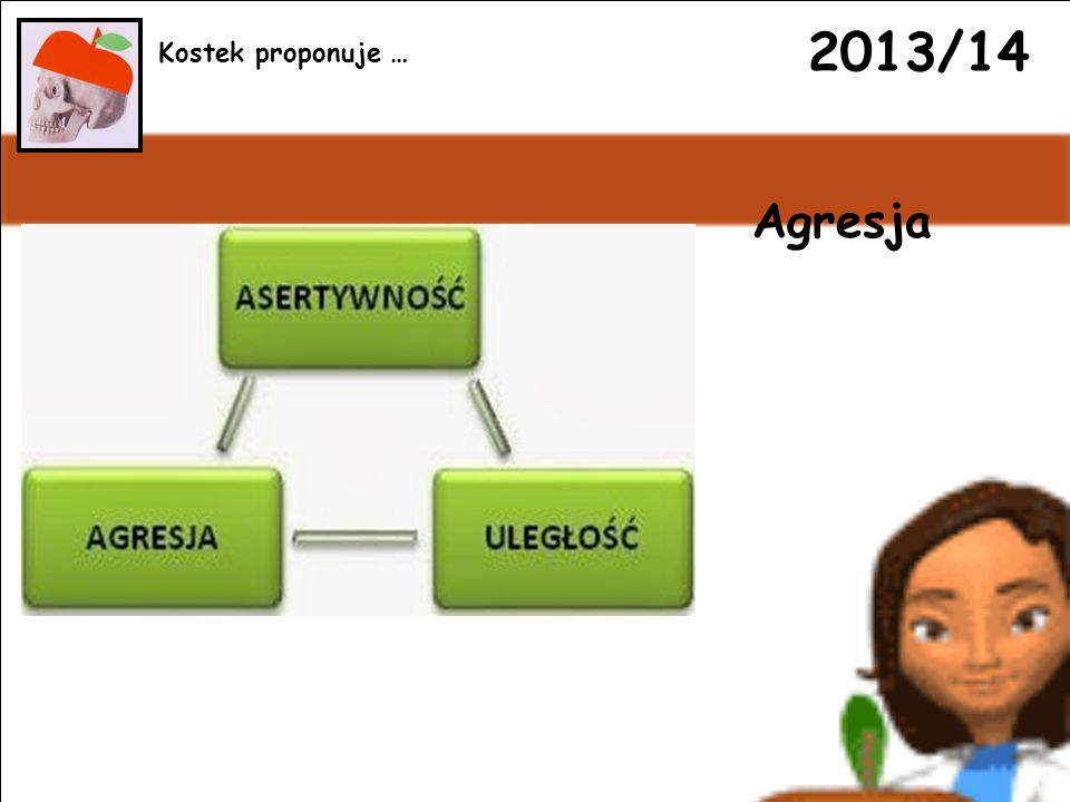 2013/14 Agresja Kostek proponuje …