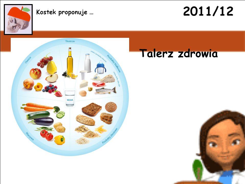 2011/12 Talerz zdrowia Kostek proponuje …