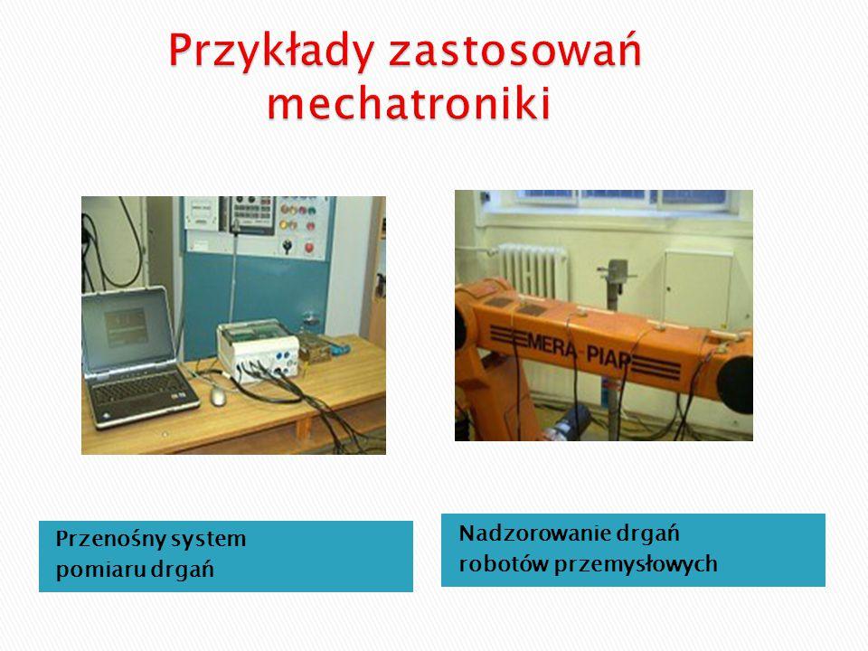 Przenośny system pomiaru drgań Nadzorowanie drgań robotów przemysłowych
