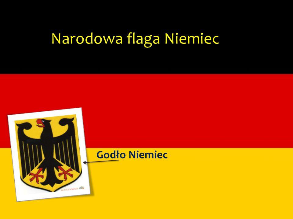 Narodowa flaga Niemiec Godło Niemiec