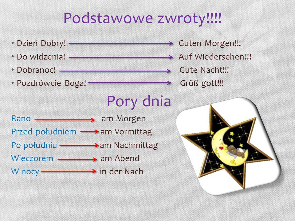 Główne informacje Językiem urzędowym jest niemiecki.