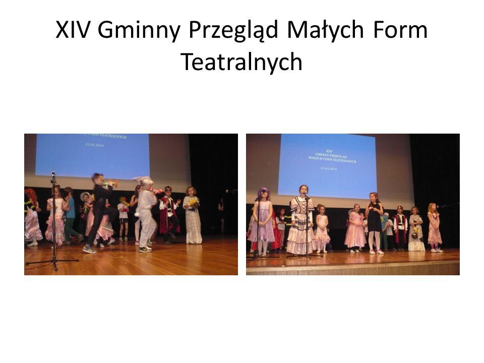 XIV Gminny Przegląd Małych Form Teatralnych