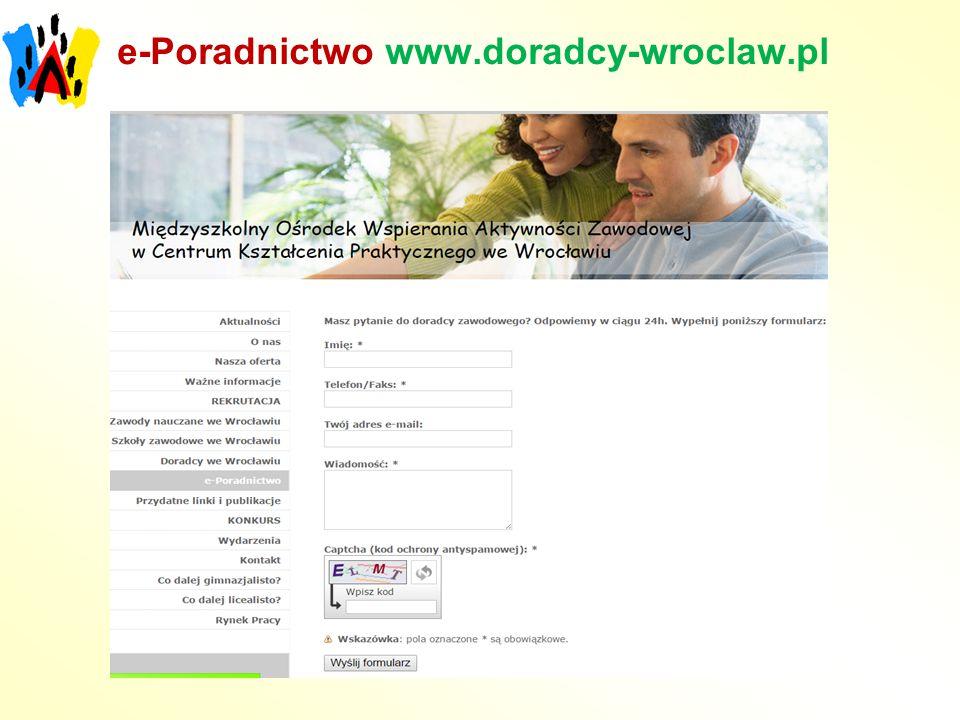 e-Poradnictwo www.doradcy-wroclaw.pl