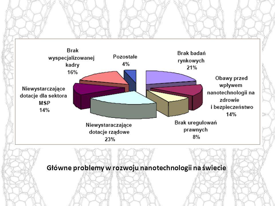 Główne problemy w rozwoju nanotechnologii na świecie