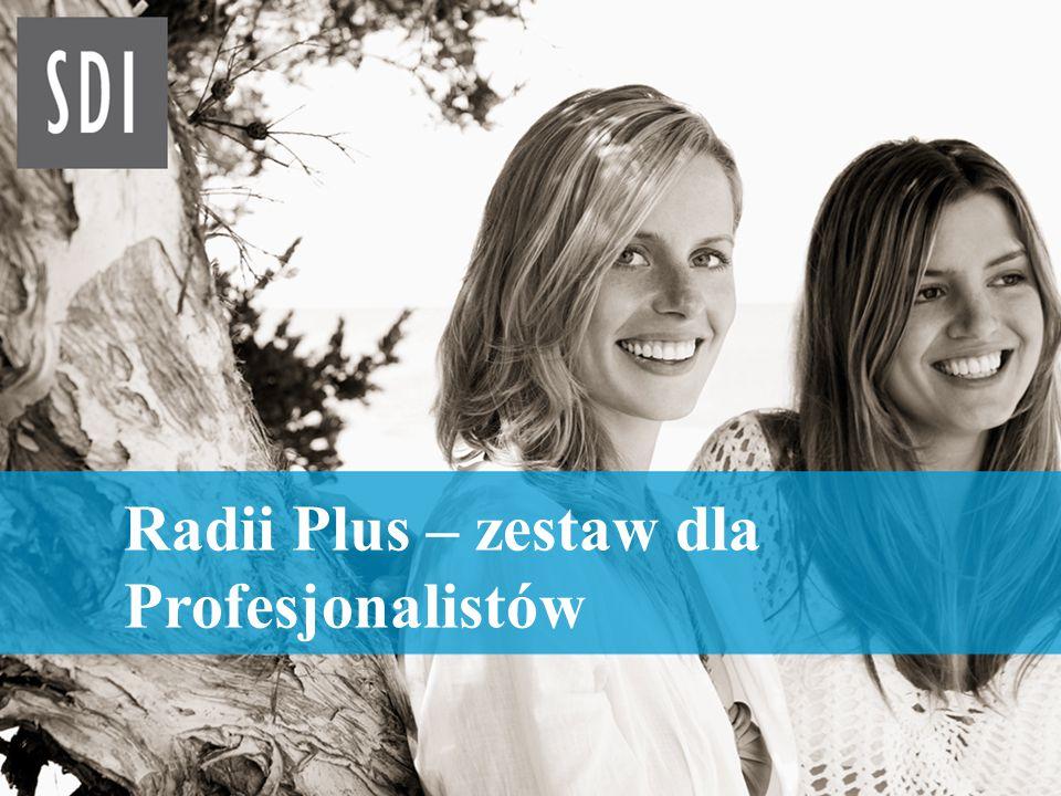 1 Radii Plus – zestaw dla Profesjonalistów