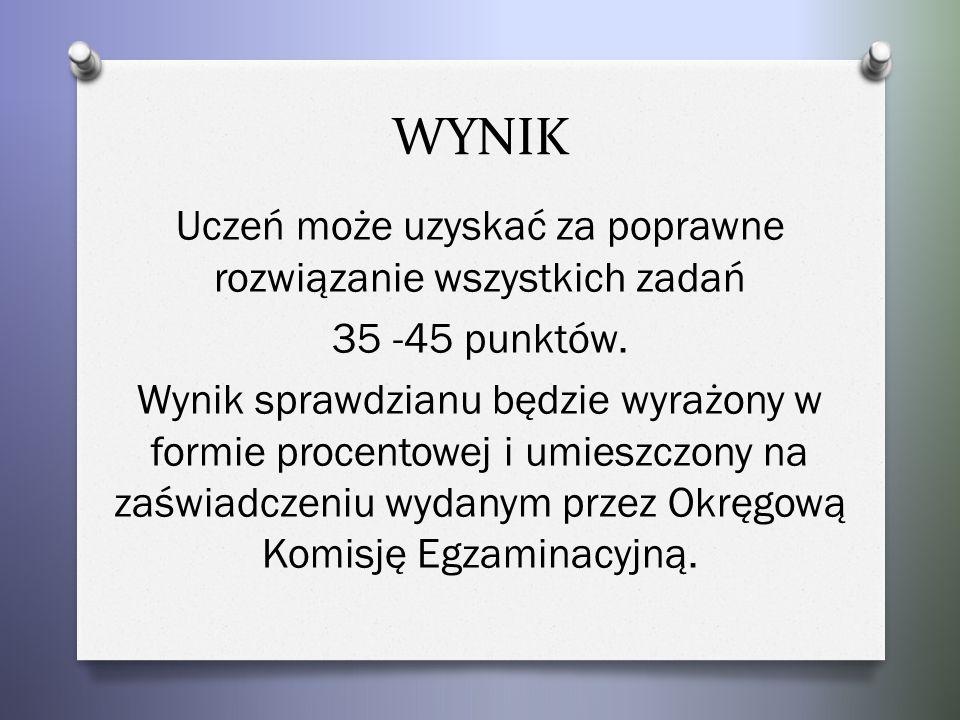 -polecenia podawane są w języku polskim -duża część materiału ma charakter ikonograficzny -wszystkie zadania mają charakter zadań zamkniętych -liczba zadań 11-15 TREŚCI