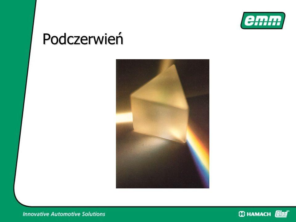 Podczerwień  Promiennik na statywie może być ustawiony nawet do 2,3m wysokości, mobilny.