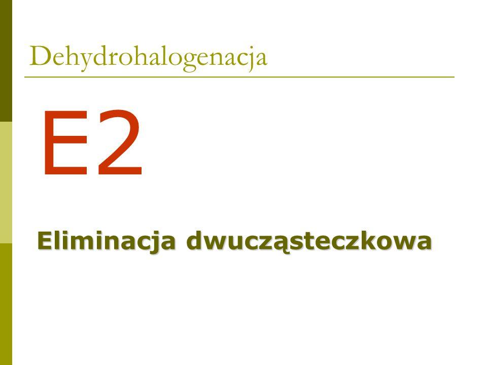 Dehydrohalogenacja - orientacja 81%19% 80%20% 71%29%