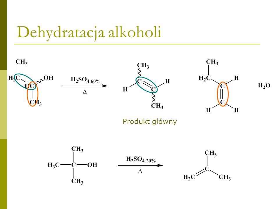 Dehydratacja alkoholi - mechanizm