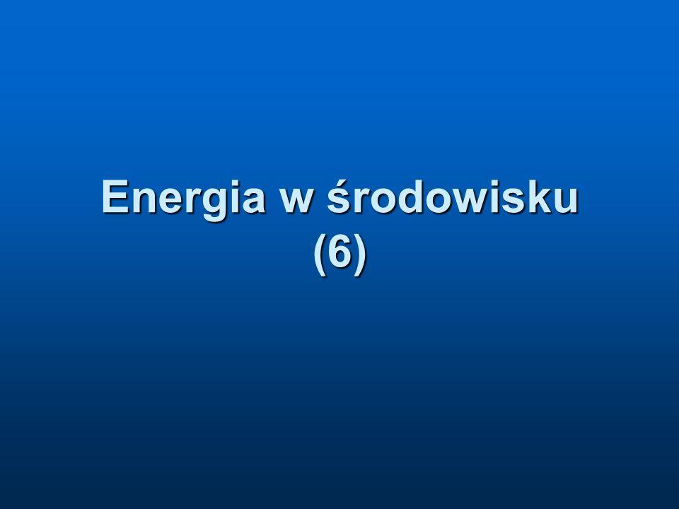 Energia w środowisku (6)