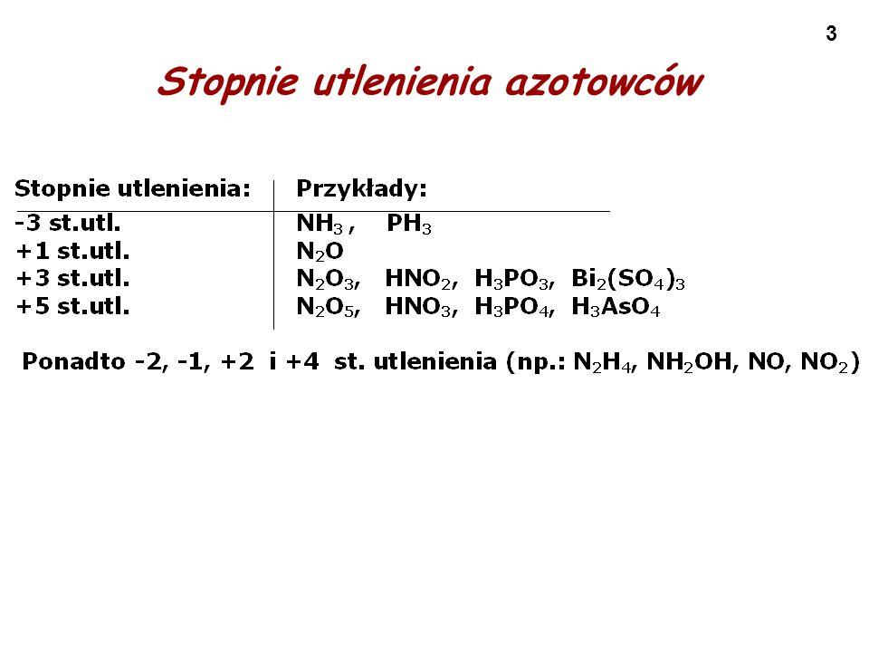 44 Tlenowe kwasy siarki Uwaga: Reakcje z udziałem reagentów podane w nawiasach nie zachodzą.