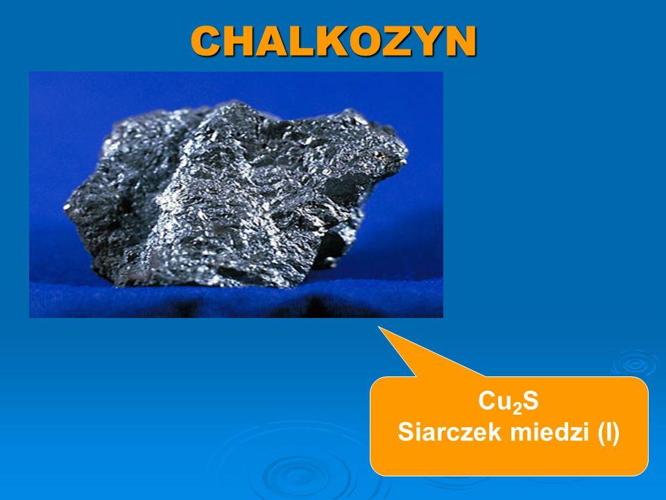 CHALKOPIRYT CuFeS 2 siarczek miedzi i żelaza