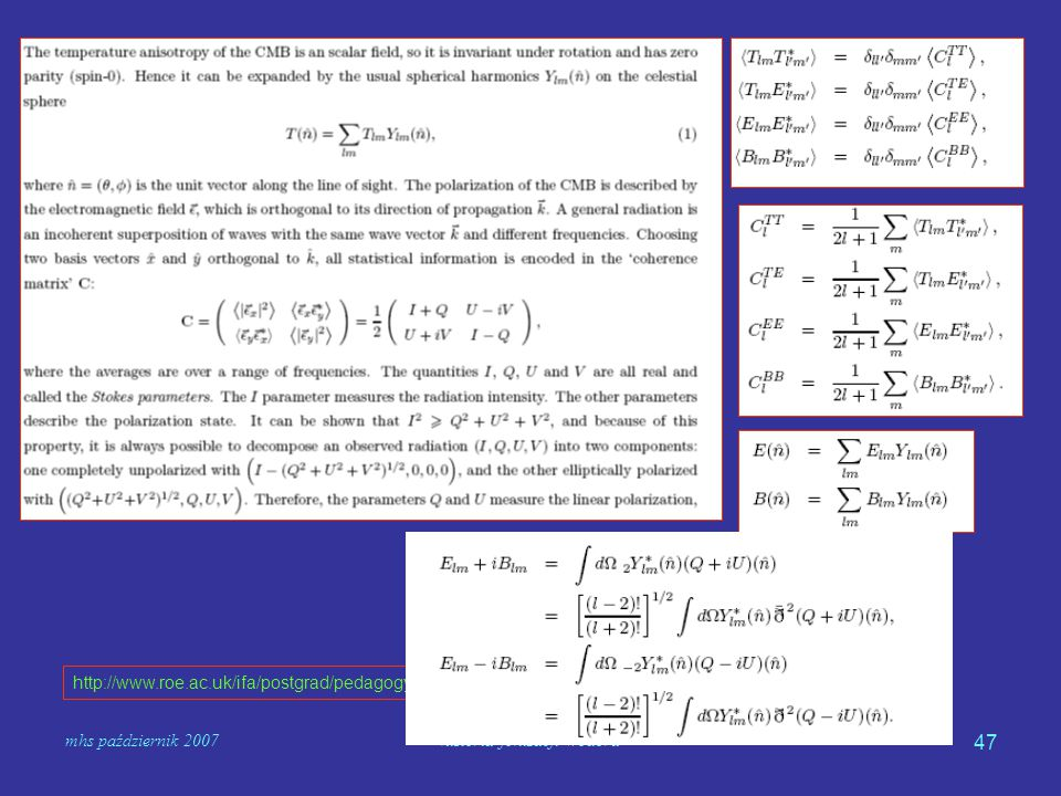 mhs październik 2007historia jonizacji wodoru 47 http://www.roe.ac.uk/ifa/postgrad/pedagogy/2007_memari.pdf
