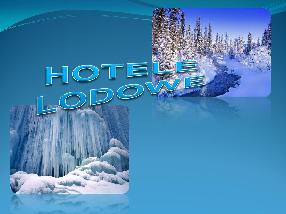 Hotel lodowy jest odmianą hotelu charakteryzującą się tym, że budynek jest zbudowany z wielkich, lodowych brył robionych w specjalnych metalowych formach.