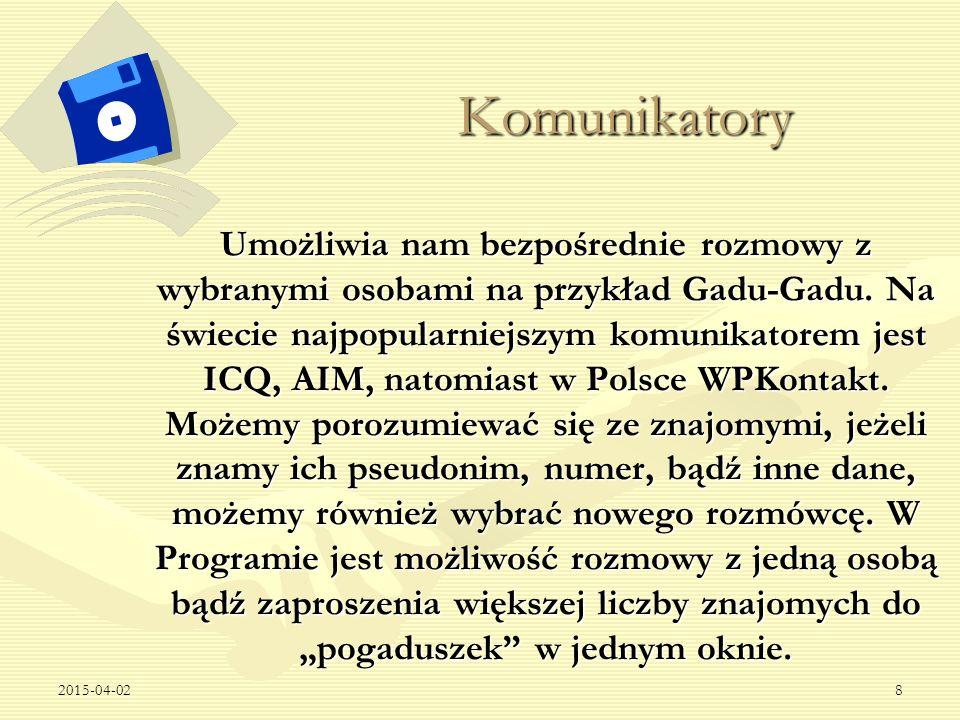 2015-04-029 Jak korzystać z komunikatorów.