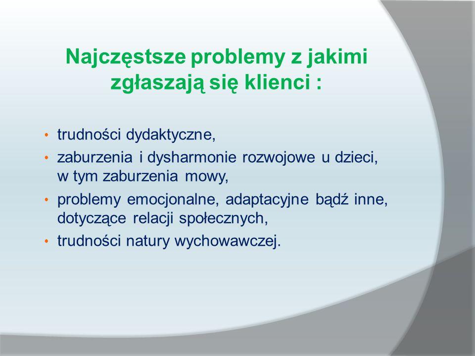 Pomagamy naszym klientom w rozwiązywaniu problemów i sytuacji trudnych: 1.