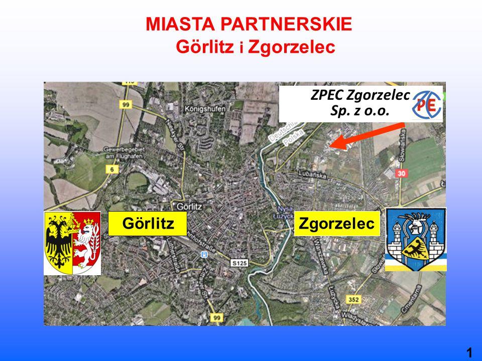 MIASTA PARTNERSKIE Görlitz i Zgorzelec GörlitzZgorzelec ZPEC Zgorzelec Sp. z o.o. 1