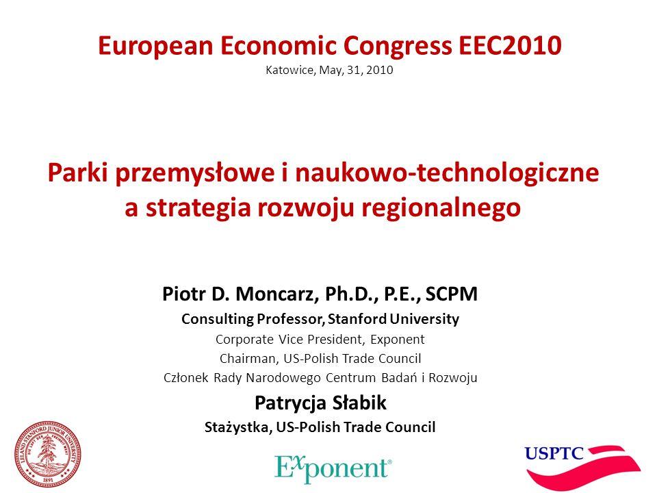 Parki przemysłowe i naukowo-technologiczne a strategia rozwoju regionalnego Piotr D.