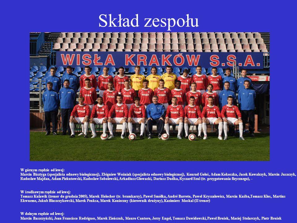 Informacje o Klubie MIASTO: Kraków ROK ZAŁOŻENIA: 1906 BARWY: czerwono-biało-niebieskie SUKCESY: - Mistrz Polski - (1927, 1928, 1949, 1950, 1951 - mis