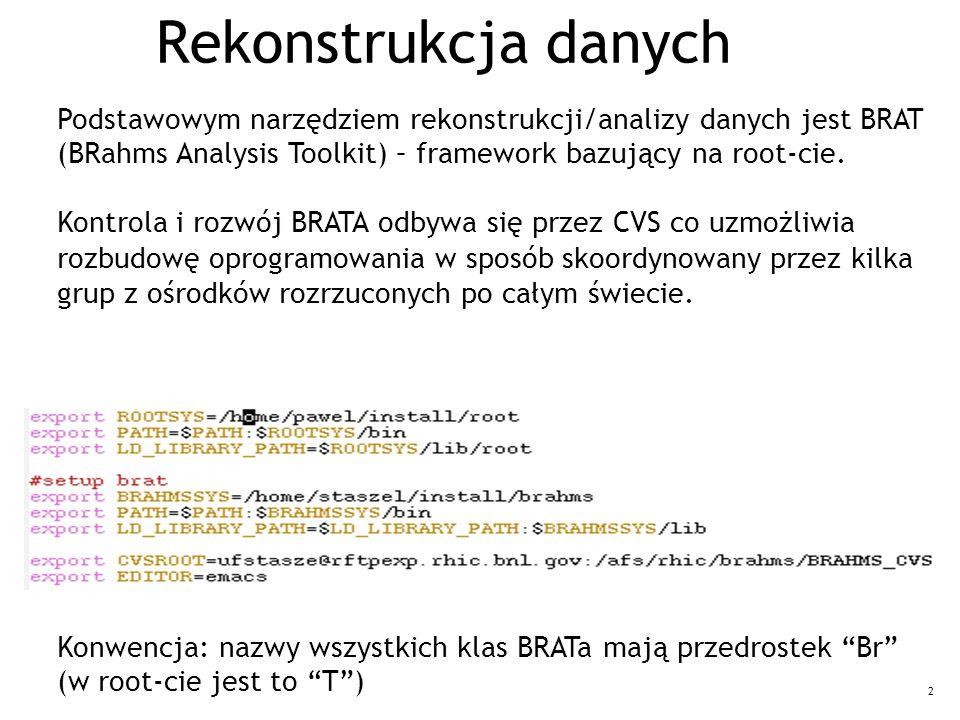33 Używanie kontenerów w programie: (BrBfsTrackingModule)