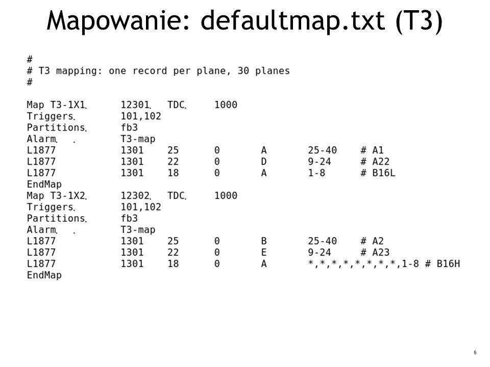 6 Mapowanie: defaultmap.txt (T3)
