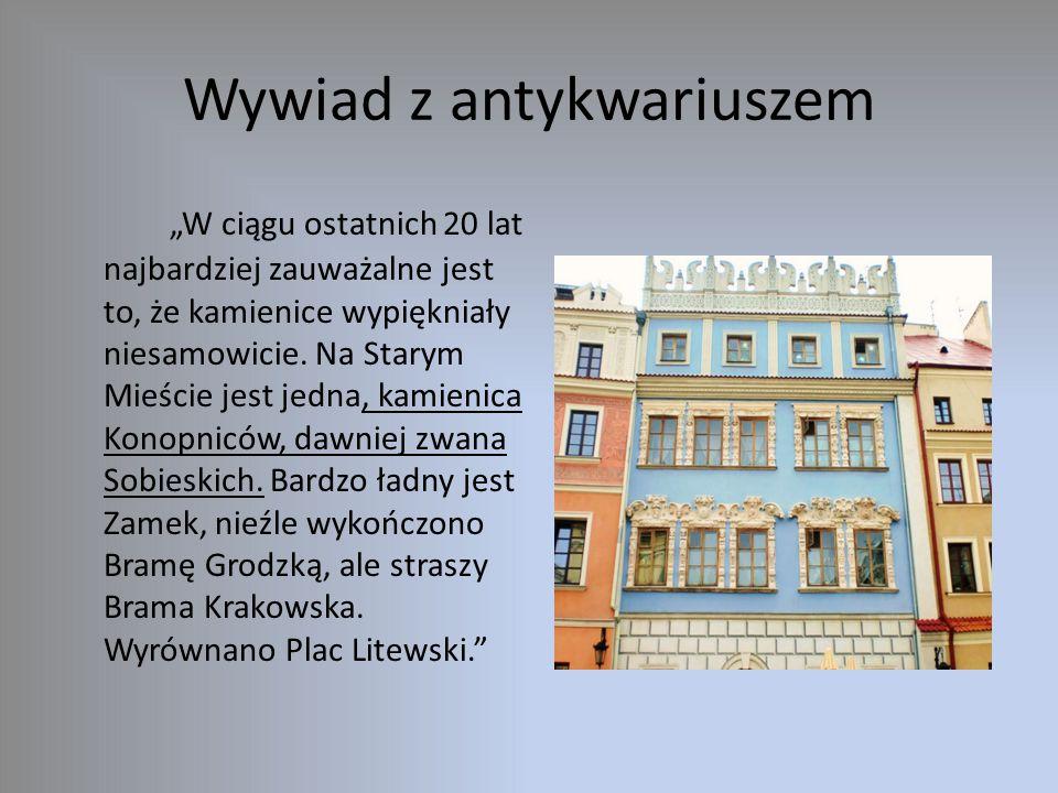 Nasze opinie – co niekoniecznie się udało Strefa ekonomiczna na Felinie Chodniki i ulice Przebudowa Placu Litewskiego Przeniesienie Dworca PKS z Podzamcza