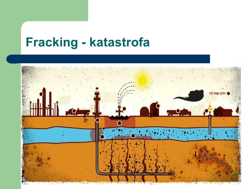 Fracking - katastrofa