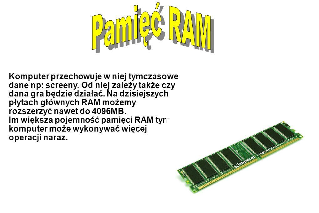 To w niej znajduje się: karta graficzna oraz muzyczna, RAM(y), procesor i wiele wiele innych części to do niej jest wszystko podłączone.