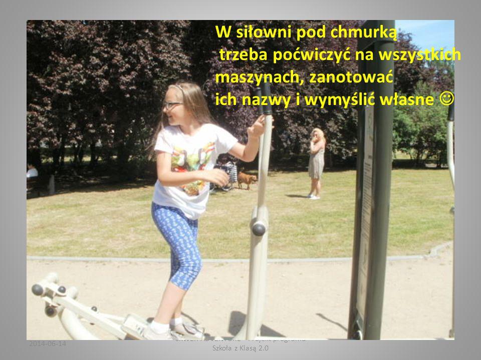 2014-06-14 SKWER ADVENTURE Projekt programu Szkoła z Klasą 2.0