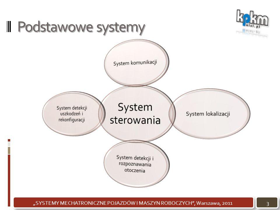 """Podstawowe systemy 3""""SYSTEMY MECHATRONICZNE POJAZDÓW I MASZYN ROBOCZYCH"""", Warszawa, 2011"""